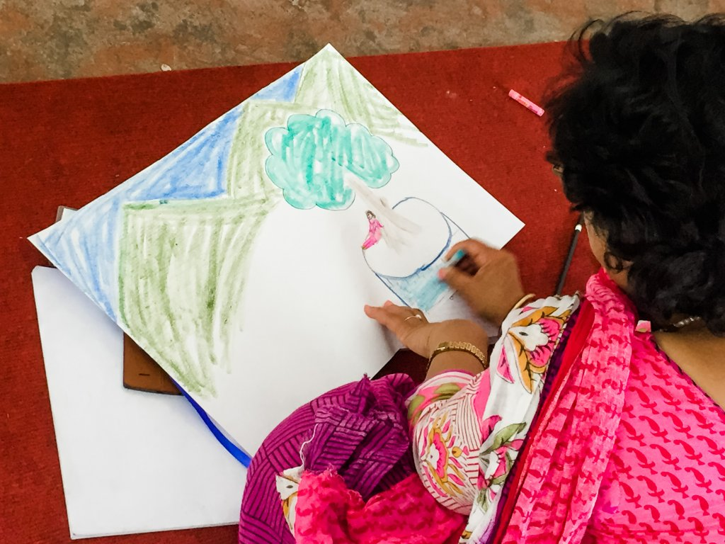 Somatic Informed Art Therapy